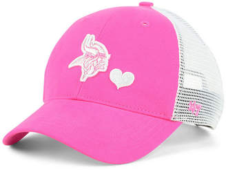 '47 Girls' Minnesota Vikings Sugar Sweet Mesh Adjustable Cap
