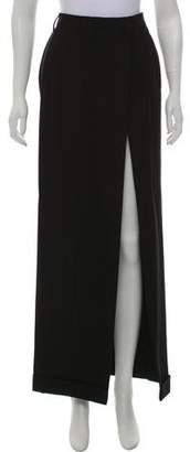Jean Paul Gaultier Virgin Wool Maxi Skirt