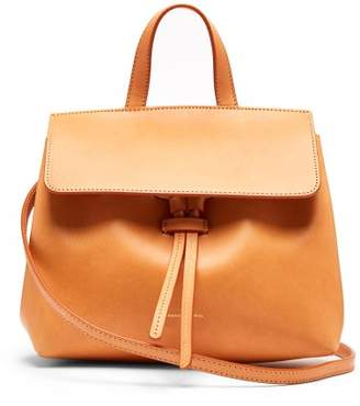 Mansur Gavriel Mini Mini Lady Leather Cross Body Bag - Womens - Tan