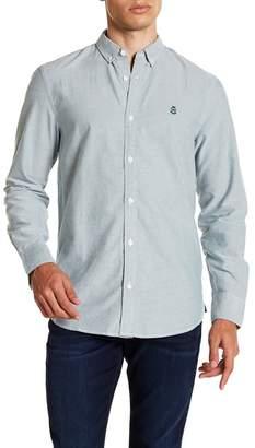 WALLIN & BROS Oxford Long Sleeve Slim Fit Shirt