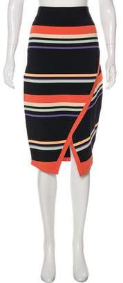 Ted Baker Knee-Length Stripe Skirt