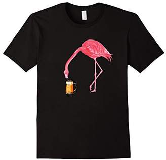 Beer Lover's Flamingo Party T-Shirt