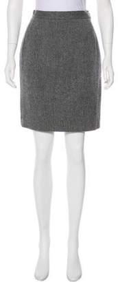 Saint Laurent Vintage Wool Skirt
