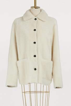 Jil Sander Foreward reversible shearling coat