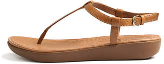 FitFlop Tia toe-thong Caramel Sandals Womens Shoes Casual Sandals-flat Sandals