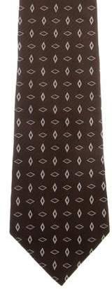 Ralph Lauren Purple Label Patterned Silk Tie