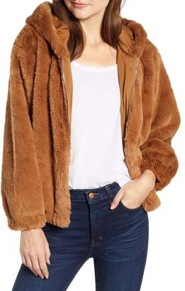 French Connection Arabella Faux Shearling Jacket