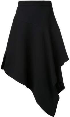 J.W.Anderson layered asymmetric skirt