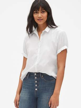 Gap Roll Cuff Shirt