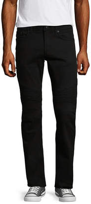 i jeans by Buffalo Mens Mid Rise Straight Fit Straight Leg Jean