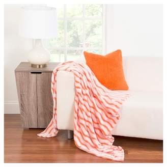 "Crayola Fuzzy Orange Throw Blanket (50""x60"")"