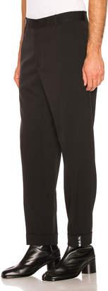 Y/Project Y Cuff Trousers in Black | FWRD