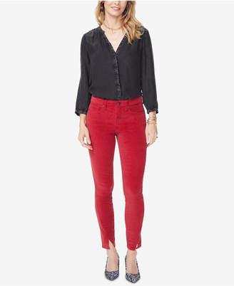 NYDJ Tummy Control Slit-Hem Jeans