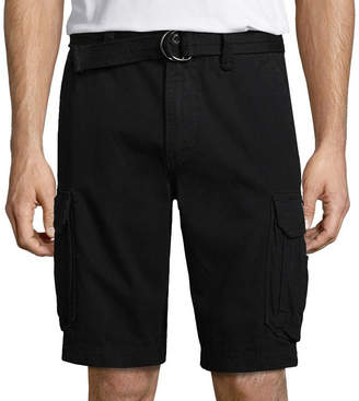 UNIONBAY Survivor Belted Vintage Cotton Twill Cargo Shorts