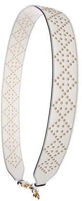 Christian Dior Studded Leather Bag Strap