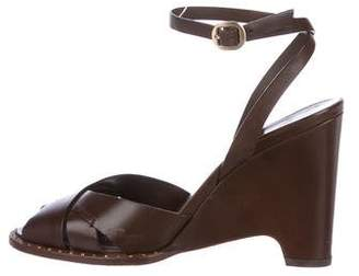 Louis Vuitton Leather Ankle Strap Sandals