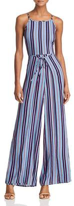 Band of Gypsies Gia Striped Jumpsuit