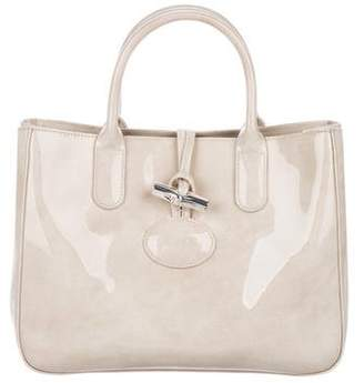 Longchamp Patent Leather Satchel