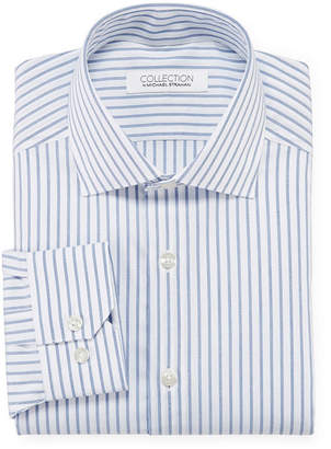 COLLECTION Collection by Michael Strahan Cotton Stretch Dress Shirt - Big & Tall
