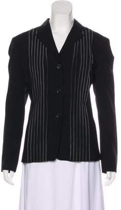 Issey Miyake Long Sleeve Wool Jacket