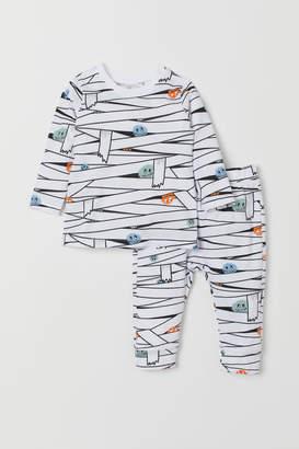 H&M Printed top and leggings