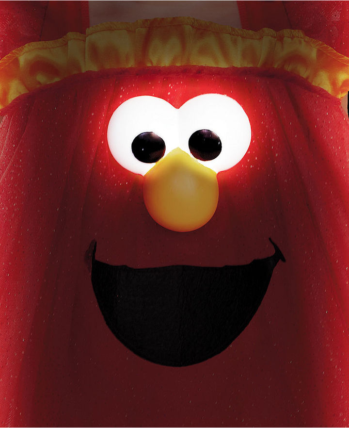 Disguise Kids Costume, Little Girls or Toddler Girls Frilly Light-Up Elmo Costume