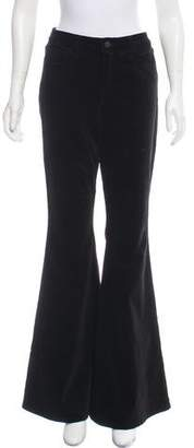 L'Agence Solana Flared High-Rise Pants w/ Tags