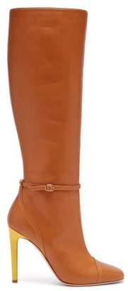 Malone Souliers X Roksanda Rhonda Leather Boots - Womens - Tan