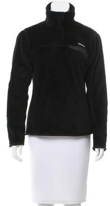 Patagonia Textured Standing Collar Sweatshirt $85 thestylecure.com