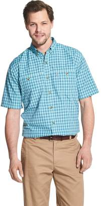 G.H. Bass Men's Bluewater Bay Plaid Fisherman's Button-Down Shirt