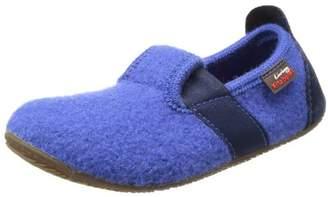 Living Kitzbühel T-Modell uni Slippers Unisex-Child Blue Size: 33