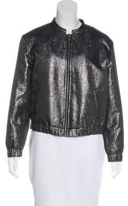 Paige Rosie HW x Zip-Up Bomber Jacket