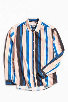 Urban Outfitters Stripe Button-Down Shirt