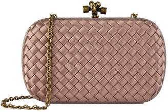 Bottega Veneta Silk Chain Knot Clutch Bag