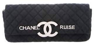 Chanel Cruise Denim Clutch