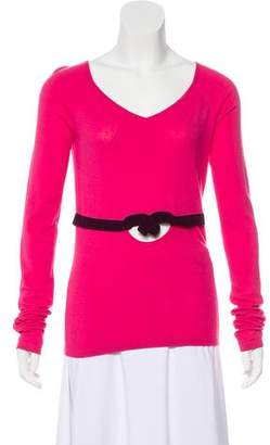 Gianni Versace Long Sleeve Knit Top
