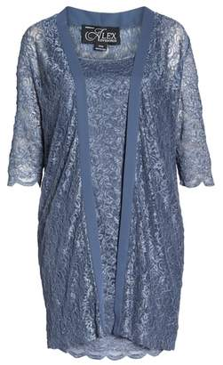 Alex Evenings Lace Sheath Dress with Jacket