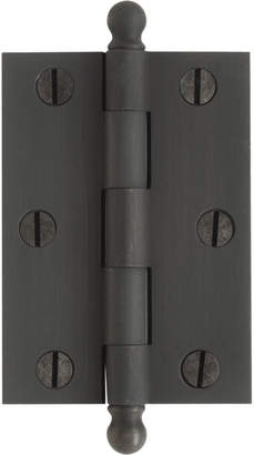 "Rejuvenation 2-1/2"" Ball-Tip Cabinet Hinges"