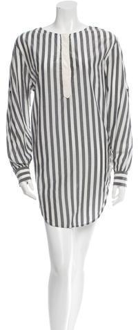 3.1 Phillip Lim3.1 Phillip Lim Long Sleeve Striped Tunic