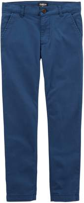 Osh Kosh Oshkosh Bgosh Boys 4-12 Slim Flat Front Chino Pants