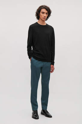 Cos DRAWSTRING TWILL TAILORED TROUSERS
