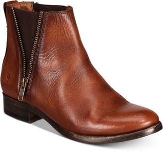 Frye Carly Zip Booties