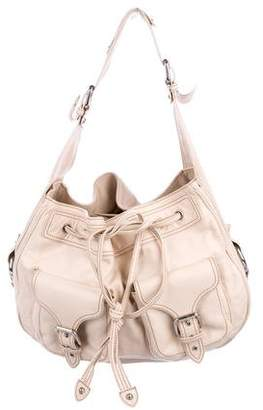 Marc Jacobs Leather Drawstring Hobo