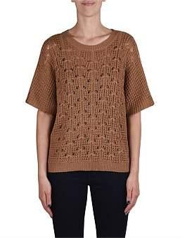 Jump Crochet Knit P/Over