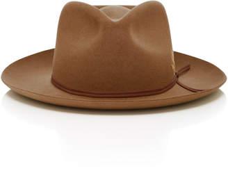 Hopper Goods Embroidered Mushroom Felt Hat