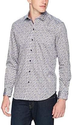Robert Graham Men's Richardson Long Sleeve Slim Fit Shirt