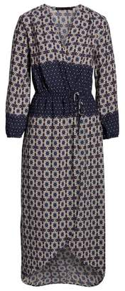 Fraiche by J Ashley Blouson Midi Dress