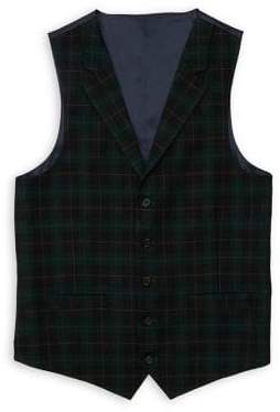 Lauren Ralph Lauren Boy's Plaid Vest
