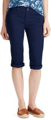 Chaps Petite Stretch Twill Shorts