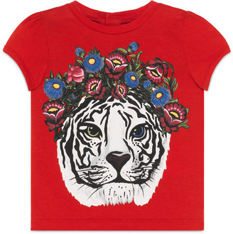 Baby tiger print t-shirt $145 thestylecure.com